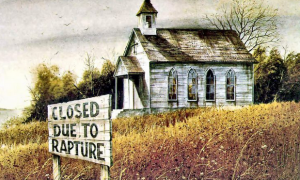 closed due to rapture
