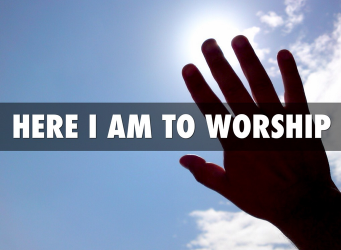 Here I Am To Worship Christian Life Today Smith, chris tomlin, hillsong, phillips, craig, and dean in response to christ's great love for us, we respond in prostration, worshipping him because he is worthy of our praise. christian life today