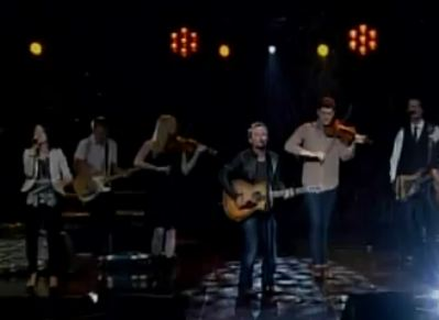 Chris Tomlin singing Our God Live at 2011 Dove Awards