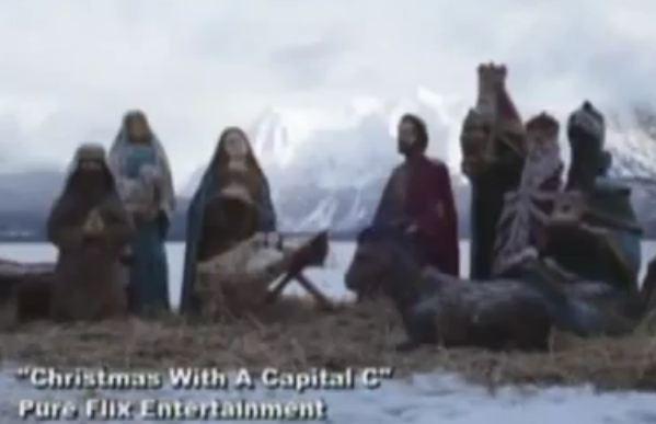 DVD Trailer Christmas With A Capital C