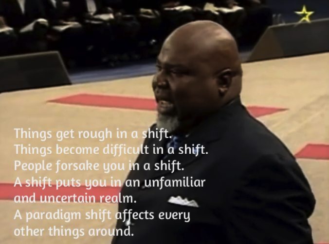 Bishop T D  Jakes Preaching The Power of a Paradigm Shift