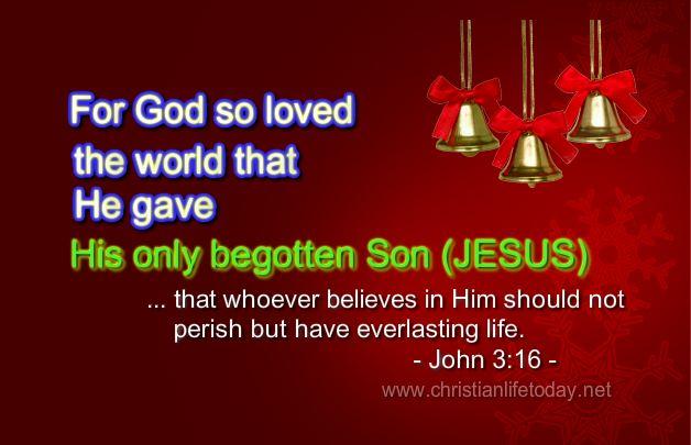 The Greatest Gift John 3 v  16