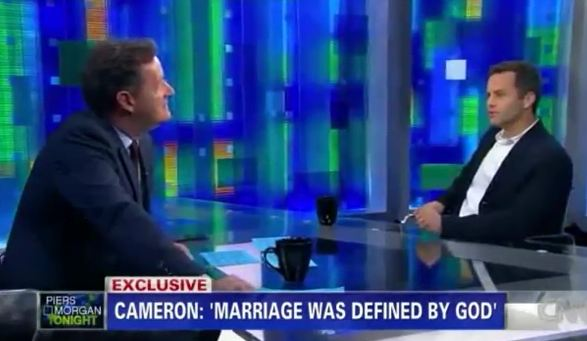 Actor Kirk Cameron on Homosexuality, Gay Marriage, and Abortion