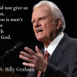 wisdom from Billy Graham