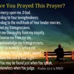Psalm 51 a prayer of repentance