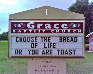 choose the bread of life