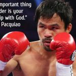 Manny Pacqiuao quote leadership