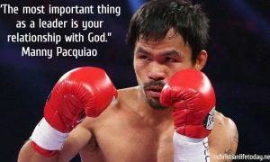Manny Pacqiuao quote leadership