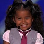 Heavenly Joy A Cute Kid Taps and Sings In Summer from Frozen America's Got Talent 2015