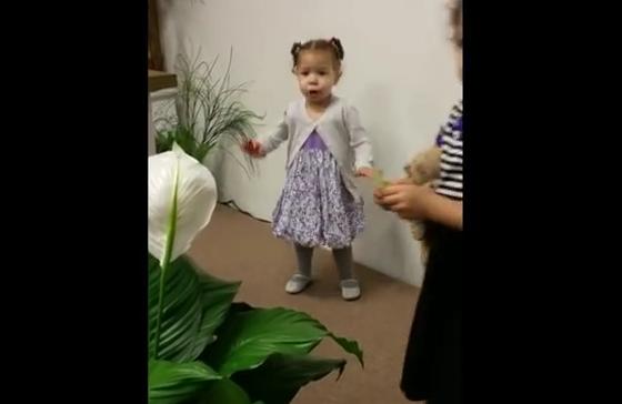Cute Little Girl Breaking Every Chain