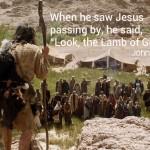 john the Baptist and Jesus Christ