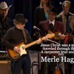 Merle Haggard Jesus Christ