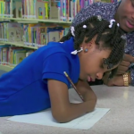 First Grader with No Arms Wins Handwriting Contest