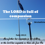 As a father shows compassion to his children,     so the Lord shows compassion to those who fear him.