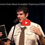 Ex Mormon testimony