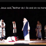 Jesus and adulterous woman