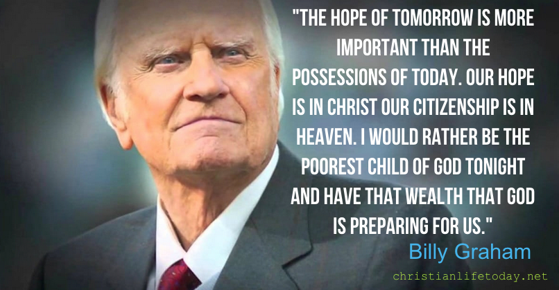 Billy Graham The cost of not following Jesus
