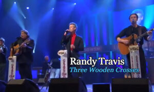 Randy-Travis-Three-Wooden-Crosses-Live-at-Grand-Ole-Opry